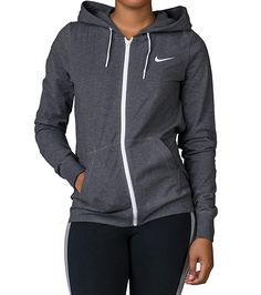 NIKE+Jersey+full+zip+hoodie+long+sleeves+Super+stretch+for+ultimate+comfort+and+performance+Full+zip+closure+2+front+pockets+NIKE+swoosh+logo+branding+on+chest