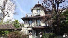Villa du Parc de Montsouris Paris 75014. Ouverte en semaine.