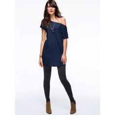 VICTORIA'S SECRET CUFF-SLEEVE DOLMAN TOP DAILY LEGGING