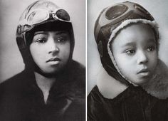Bessie Coleman and Lily
