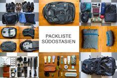 Hier findest du unsere Packliste für Südostasien. Wir verraten dir, was du nicht vergessen darfst und was unbedingt in deinen Rucksack muss.