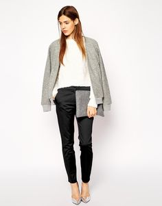 ASOS Structured Cigarette Trousers