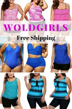 6457148fb8 Buy Cheap Plus Size Swimwear | Bikinis & High-Waisted Swimsuits -WoldGirls