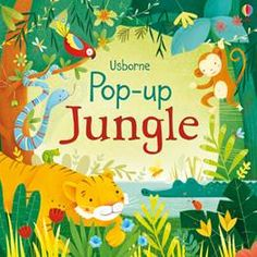Buy Pop-up Jungle by Fiona Watt, Alessandra Psacharopulo from Waterstones today! Click and Collect from your local Waterstones or get FREE UK delivery on orders over Pop Up, The Night Before Christmas, Christmas Gifts For Kids, Toddler Books, Childrens Books, Kid Books, Parrot Flying, Jungle Scene, Jungle Jungle
