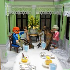 Thornhill House   Thornhill House is my new style Victorian mansion built from Playmobil's 5300 Mansion. I decided to paint the entire hous...