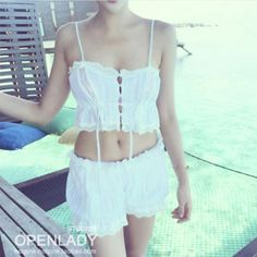 Cheap lovely bra, Buy Quality bra cute directly from China set sexy Suppliers: White/Pink Lovely Bra Cute Lolita Pierced Kawaii Women cotton lace japanese 2 pcs summer beach Underwears Brief Set Sexy Z271
