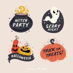 Halloween Illustration, Autumn Illustration, Halloween Quotes, Halloween Crafts, Happy Halloween, Halloween Decorations, Halloween Borders, Halloween Patterns, Witch Party