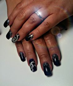 #blue nails