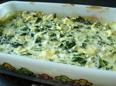 Pampered Chef Spinach & Artichoke Dip