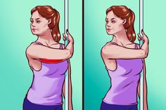 9 Stretching Exercises That May Help You Get Rid of Body Asymmetry and Speed Up Your Metabolism – Open Food Static Stretching, Stretching Exercises, Combattre La Cellulite, Muscle Stretches, Walking In High Heels, Lower Back Muscles, Coach Sportif, Sedentary Lifestyle, Shoulder Muscles