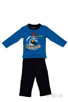 Pyjama Garçon Beyblade Gingka bleu https://twitter.com/Tolukicom #enfant #pyjama
