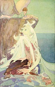 dorothy lathrop, illustration for little boy lost by w.h. hudson, 1920