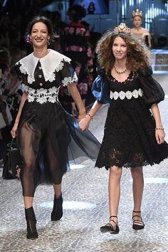 Veteran Models at Fashion Month