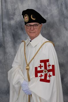 The Philippi Collection: Birrete and Toco Worn by the Members of the Equestrian Order of the Holy Sepulchre of Jerusalem
