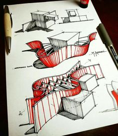 Architecture design, Architecture concept drawings, Architecture concept diagram… - House and Modern Architecture Plan Concept Architecture, Sketchbook Architecture, Conceptual Model Architecture, Conceptual Sketches, Architecture Presentation Board, Pavilion Architecture, Cultural Architecture, Architecture Graphics, Landscape Architecture
