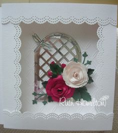 A Passion For Cards: Rose book card