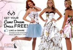 Win a Free Camo Formal Prom Dress | Big Game Hunting | Realtree