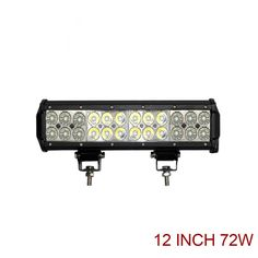 Product Name : 12 Inch 72W Dual Row Off Road LED Light Bar Yita-B072-D      Description :  1. Die-cast Aluminum Alloy Housing  2. Upgraded P...