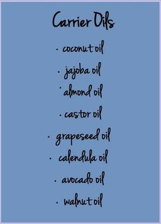 Aromatherapy / Essential Oils