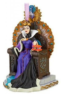 Evil Queen on throne sketchbook ornament (2010)