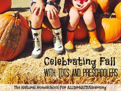 Learn about autumn and fall in tot school and preschool settings with a great bucket list of learning activities