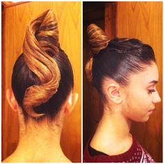 #ballroomhair  #dancehair #hairstylist #standard #updo #hair #braids #braidshair #styling #dancesport #ballroomdancing