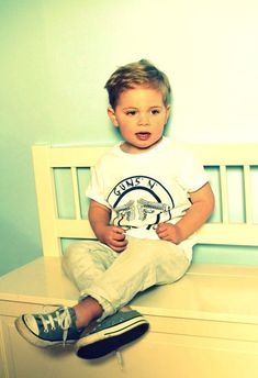 Band tees & converse for toddlers