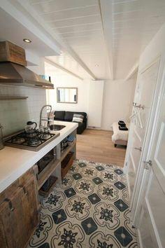 Zementfliesen Küche Fotogalerie Inspiration Pinterest Haus - Marokkanische fliesen küche