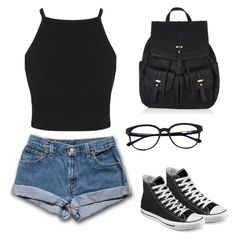 Outfits for teens, cute summer outfits, stylish outfits, school outfits, sp Cute Outfits With Jeans, Preppy Outfits, Cute Summer Outfits, Teen Fashion Outfits, Mode Outfits, Cute Casual Outfits, Short Outfits, Outfits For Teens, Stylish Outfits