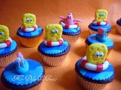 Spongebob cupcakes