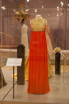 Princess Grace wore this dress, designed by Marc Bohan, who is best known as artistic director at Christian Dior, to a costume ball at the M...