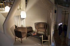 As poltrona Cheval-D'Arçons, design Philippe Nigro para Hermès