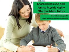 "Characteristics of yelp jessica psychic highly effective math tutors  Yelp Jessica psychic say It infrequently happens that a kid says it is ""Math."" The dominant part of students gave a reason that math is hard to comprehend, or they can't comprehend it because of incapable showing strategies for their educator. Each instructor has its specific manner of educating yet showing math needs ability in quality preparing.  For more update about yelp jessica psychic and his guideline click here……"