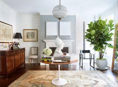 The Most Beautiful Home with Modern Victorian Style // Sara Ruffin Costello Decor, House Design, Furnishings, Interior Design, Blue Rooms, Interior Inspiration, Interior, Home Decor, Furniture
