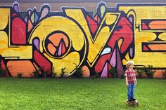 The 'Love' mural at 1050 Yale St., Houston, TX 77008 (the former post office)---Wear Where Well Houston Mural Guide_0030