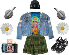 """""""I'll Kill Her"""" by anapizza ❤ liked on Polyvore"""