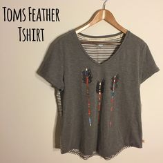TOMS for TARGET Women's Arrow Tshirt Popular item from TOMS for Target. Never worn. NWT. TOMS Tops Tees - Short Sleeve
