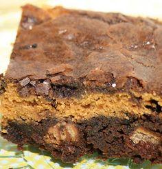 Coffee crisp brownies... Omg