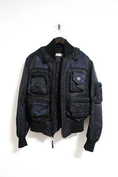Issey Miyake Aw 1996 Parachute Cargo Ma 1 Bomber Jacket Size M $4000 - Grailed