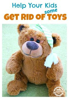 Get rid of toys without drama