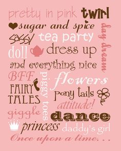 Boy and Girl printables!!! | Not JUST A Housewife