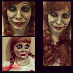 Annabelle the doll SPFX MAKEUP halloween makeup by andria_pearl   Andria Benavidez