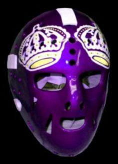 Vintage Rogie Vachon Kings mask.