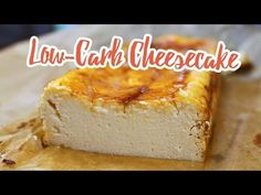 Low Carb Protein Cheesecake – Essen ohne Kohlenhydrate