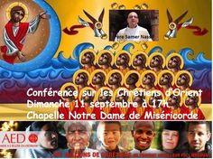 Dimanche 11 septembre à 17h Chapelle Notre Dame de Miséricorde