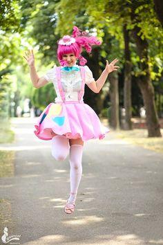 Pinkie Pie Jump!! by SniiCosplay