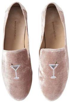 Martini Velvet Loafers