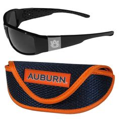 Auburn Tigers Chrome Wrap Sunglasses and Sport Carrying Case 2CCW42SC