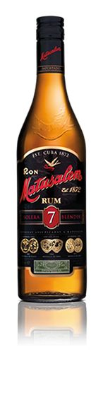 Matusalem Solera 7 is a dark rum, aged using the Solera process. With exceptional smoothness and a pronounced finish, this rum is especially intriguing for its excellent quality and traditional Cuban flavor. A premium rum at a highly competitive price, among rums for mixed drinks. (Not Available in the USA) - (tasting notes...)