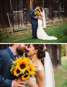 John + Jill: Botzum Farm Wedding Akron Ohio via Full Bloom Photography - Cleveland Ohio Wedding Photographer | Barn Wedding Inspiration
